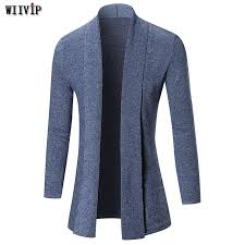 wiivip 2017 new band casual knitted sweater cardigan mens