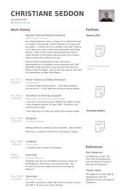 Resume Templates Samples Examples by Lifeguard Resume Samples Visualcv Resume Samples Database