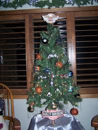 harley davidson tree in memory of my late husband jerry