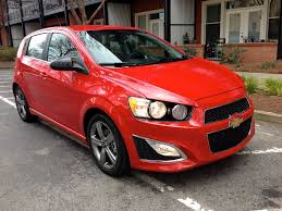 2013 chevrolet sonic rs technology that rivals luxury brands