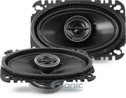 pioneer 4x6 pioneer ts g4645r 200w 4 x 6 2 way g series coaxial car speakers