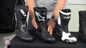 summer motorcycle boots 2013 summer boot buying guide at competition accessories youtube