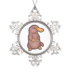 platypus ornaments keepsake ornaments zazzle