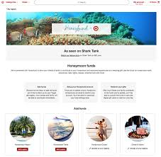 wedding registry website target honeyfund create wedding experiences shopper marketing