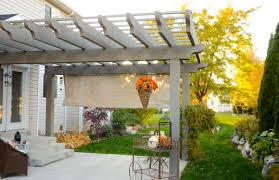 Pergola Designs With Roof by Astonishing Patio Home Design Ideas Introduces Decor Harmonious