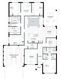 simple 5 bedroom house plans best four bedroom house plans floor for two five bungalow split six