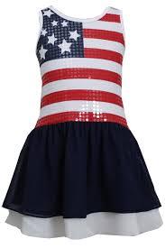 White American Flag In Fashion Kids