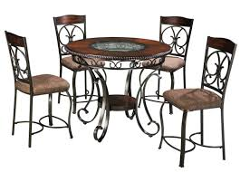 glambrey round dining room counter table from ashley d329 13