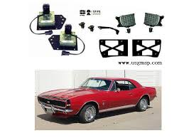 1967 camaro kit 67 conversion kit 67 camaro std to rs headl kit us gm service