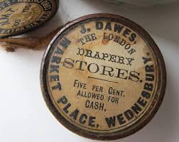Drapery Stores Antique Advertising Etsy