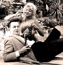 jane mansfield jayne mansfield chats with bob crane