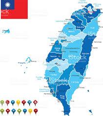 Map Of Taiwan Taiwan Map Clip Art Vector Images U0026 Illustrations Istock