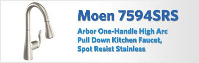 moen 7594esrs arbor review our moen 7594srs arbor review kitchen faucet reviews pro