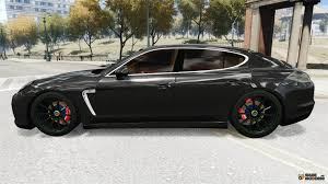 porsche black 2010 porsche panamera turbo black edition for gta 4