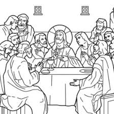 Coloring Page Of Jesus Last Supper Archives Mente Beta Most Last Supper Coloring Page