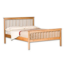 Spindle Bed Frame Cherrystone Furniture Shaker Spindle Bed
