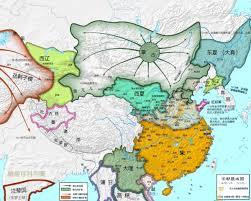 China On World Map by China History Maps 1127 1279 Southern Song Nansong