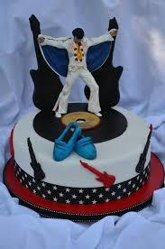 elvis cake topper elvis gâteaux designs cakes elvis