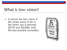 What Is Legally Blind Teaching Students Who Are Blind Or Visually Impaired In The