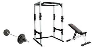 Weight Bench Package York Fts Power Cage Bench And Weights Package Savage Strength