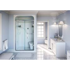 4 Shower Door Mirolin Sh4ls Rs 4 Shower Stall With Seat White Home