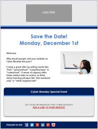 save the date emails email template cyber monday 456x600 jpg