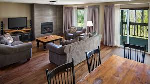 3 bedroom condos condo rentals and accommodations deerhurst resort muskoka ontario