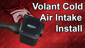 nissan frontier cold air intake volant cold air intake install 2007 nissan titan youtube