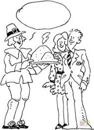 pictures thanksgiving coloring pages holiday dinner happy