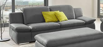 Esszimmer G Stig Bestellen Sofa La Isla Grau 3 Sitzer Couch Lederoptik Polstergarnitur
