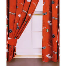 Ready Made Children S Curtains Childrens Boys Disney World Of Cars Burning Ready Made Bedroom