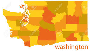 Maps Washington State by Washington State Vector Map Royalty Free Cliparts Vectors And