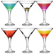 bicchieri cocktail city bicchieri da martini e cocktail 175 ml set da 6 in