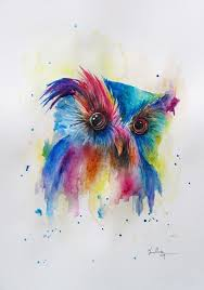 best 25 owl watercolor ideas on pinterest watercolor bird