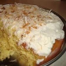 tres leches cake allrecipes com yum pinterest allrecipes