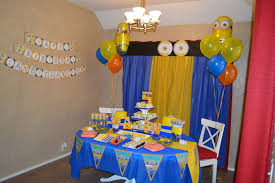 minions birthday party minions birthday party ideas photo 2 of 27 catch my party