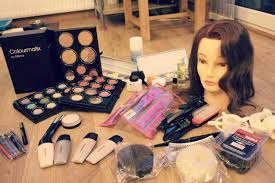 professional special effects makeup kits what s in my student make up kit level 3 diploma in media make