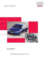 ssp431 audi rs 6 turbocharger internal combustion engine