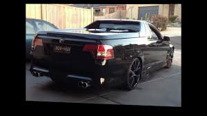 holden maloo 2009 hsv maloo r8 twin turbo youtube