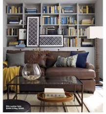 Dark Brown Sofa by This Image Is Another Example Of How To Decorate Around A Dark