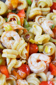 bloody mary shrimp pasta salad recipe party side dishes