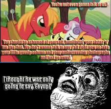Big Mac Meme - talkative big mac my little pony friendship is magic know