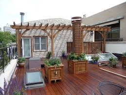 small house plans with rooftop deck