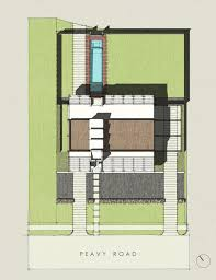 house site plan gallery of pv14 house m gooden design 34