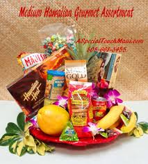 Gourmet Fruit Baskets Gift Baskets A Special Touch Florists Serving Lahaina And West