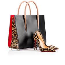 christian louboutin so kate 120 brown patent leopard 1150576bw1f