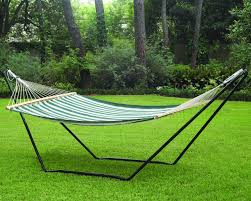 wonderful double hammock frame with designs concept garden ideas