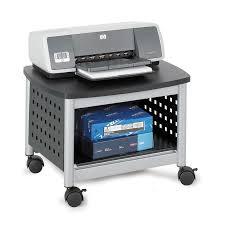 under desk printer stand with drawers decorative desk decoration