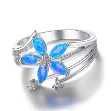 blue wedding rings 32 most wanted wonderful blue opal engagement rings eternity jewelry