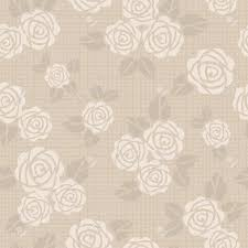 Color Beige Beautiful Seamless Vector Background With Beige Roses Royalty Free